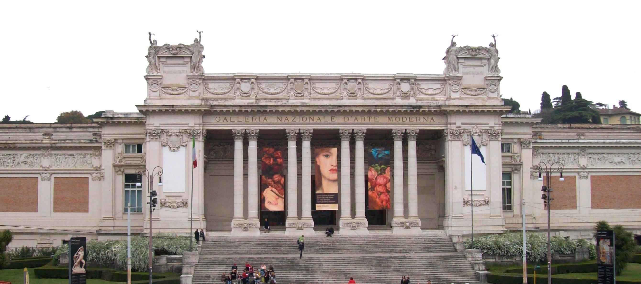 Galleria nazionale d 39 arte moderna roma zero for Palazzo delle esposizioni via nazionale roma