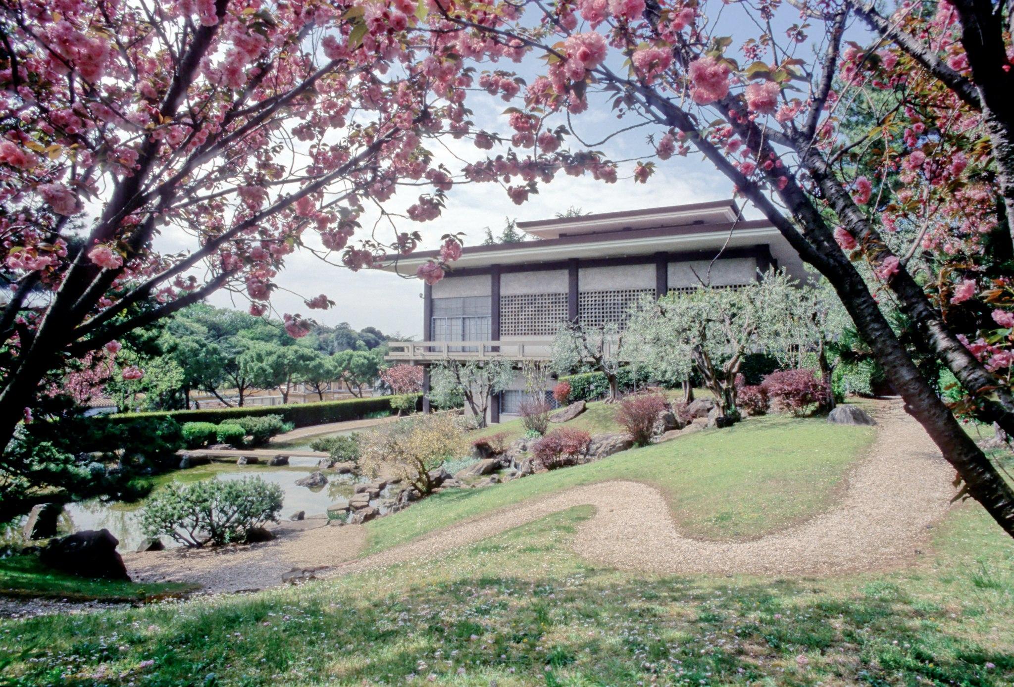 Istituto giapponese di cultura roma zero for Giardini giapponesi milano