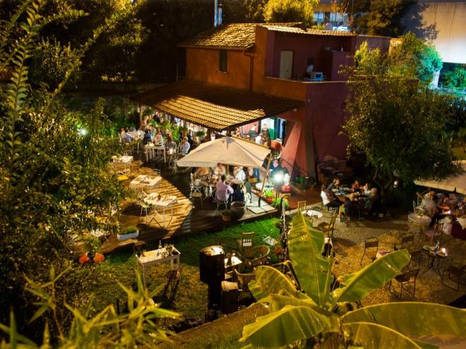 Mangiare all aperto a roma zero for La vecchia roma ristorante roma