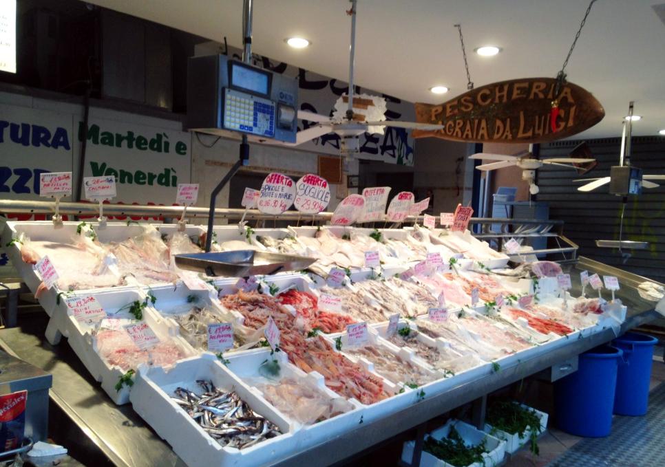 Pescheria agraja ristorante al mercato roma zero for Ristorante da giulio milano