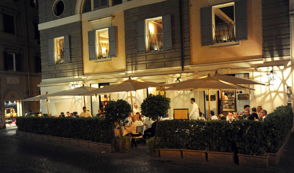 Restaurants Piazza Di Trevi Pas Cher