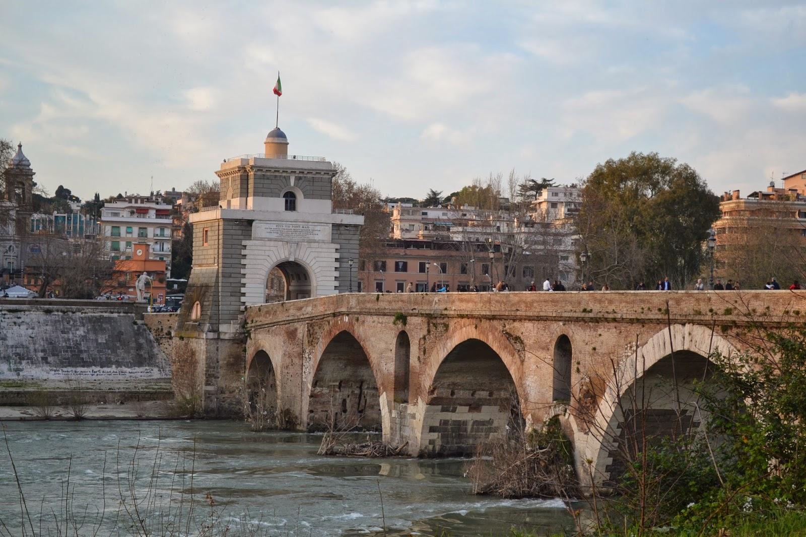 ponte milvio roma zero