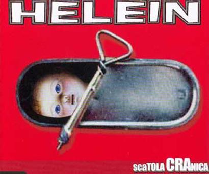 """Cover dell'lp degli Helein """"Scatola Cranica"""""""