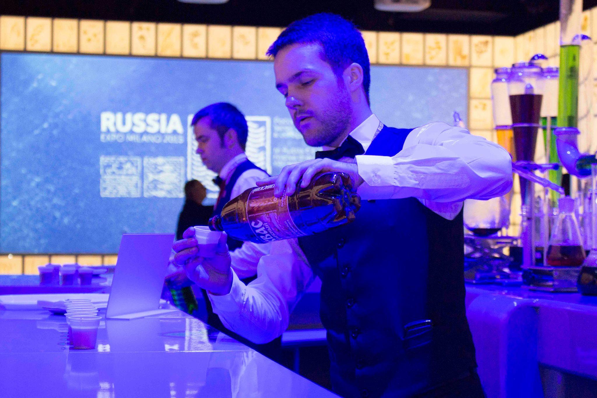 Il Water Bar del padiglione russo