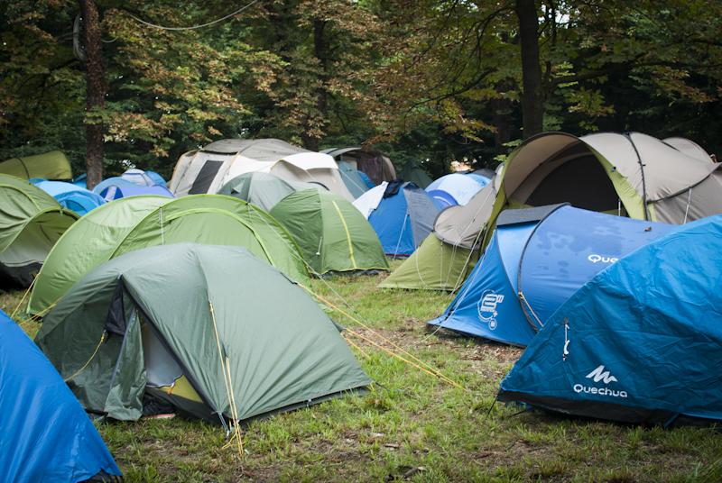 Il campeggio di Terraforma