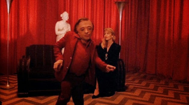 Il nano di Twin Peaks che balla