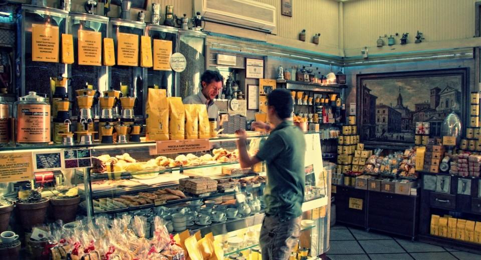 Caffe Greco Rome Pistacchio Ricotta Cream Filling Cake