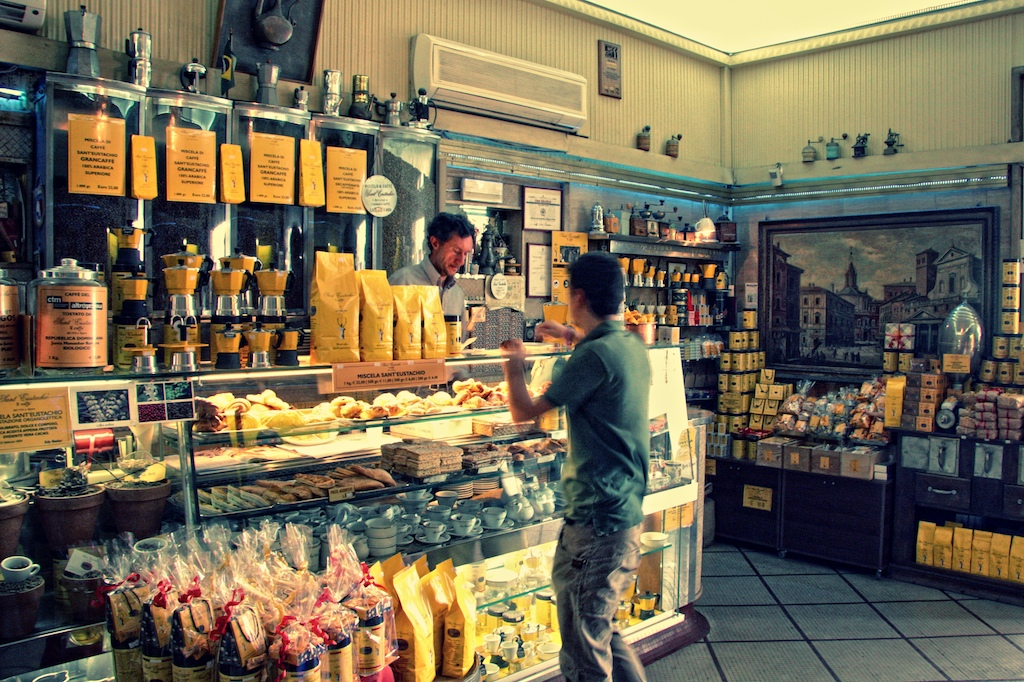 Bologna Italy Best Coffee Shop