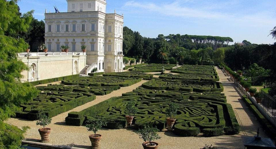 Villa pamphili roma zero for Tenuta di campagna francese