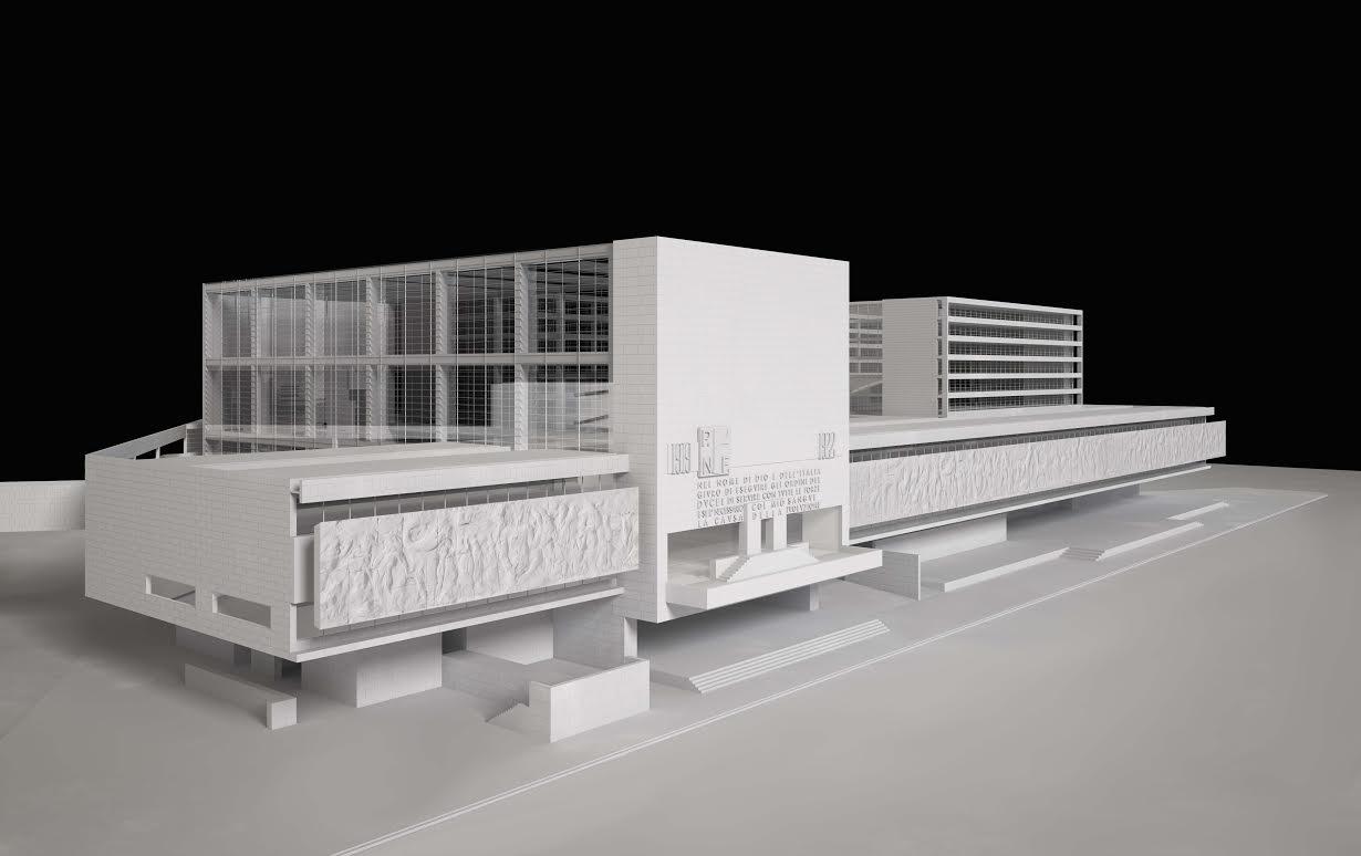 Giuseppe terragni a roma archivio centrale dello stato - Architetto palazzo congressi roma ...