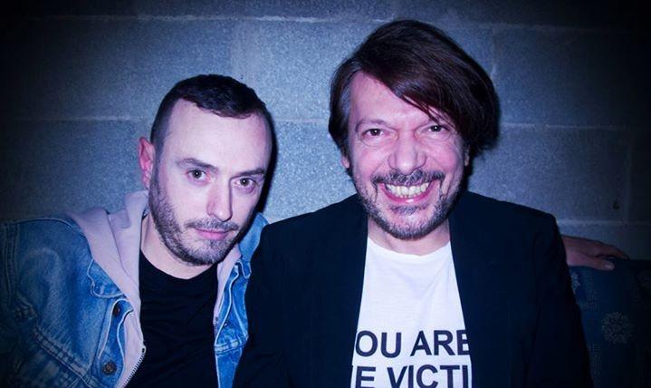 Sergio Tavelli e Nicola Guiducci