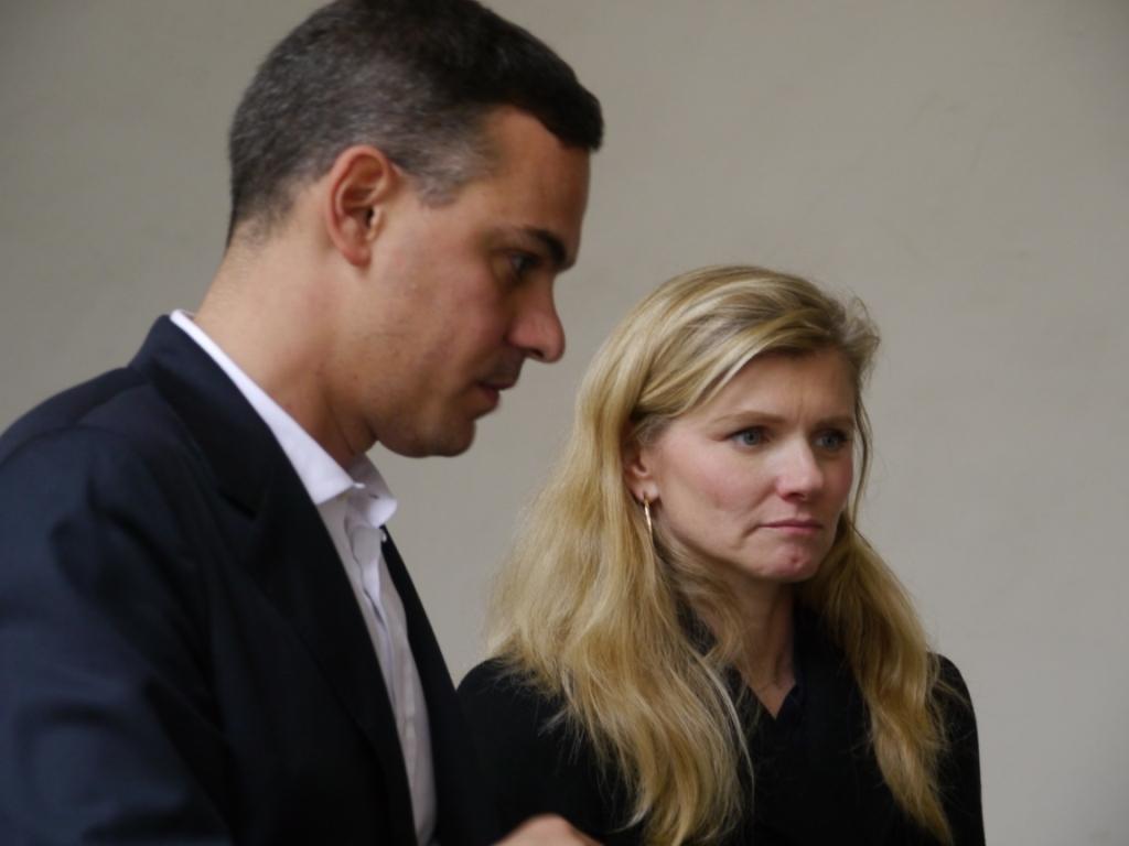 Massimiliano Gioni e Beatrice Trussardi