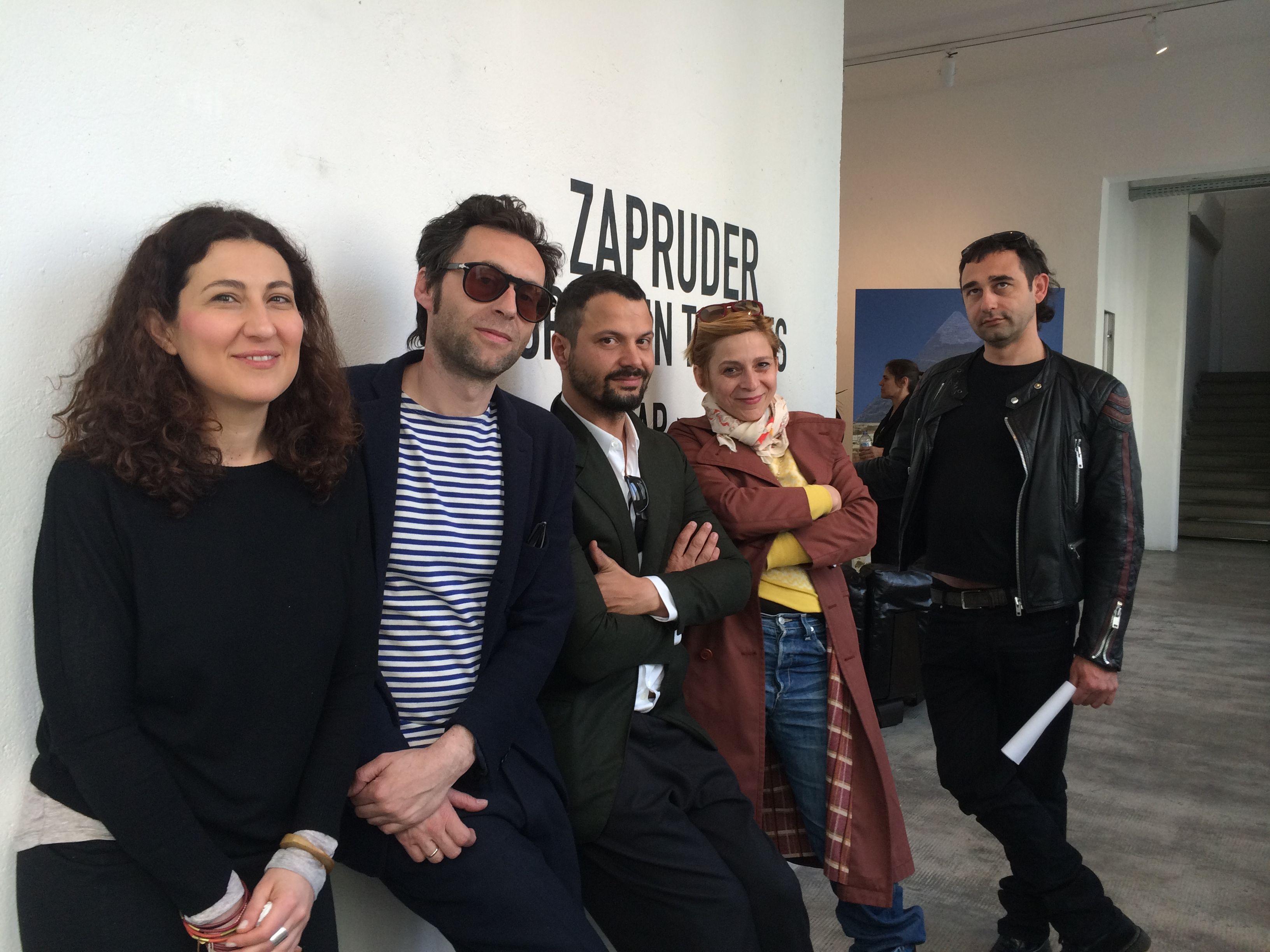 Mirko Rizzi con Zapruder alla Marsèlleria