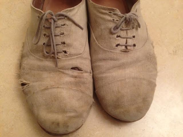 Marsèll burlap beige shoes (molto usate)