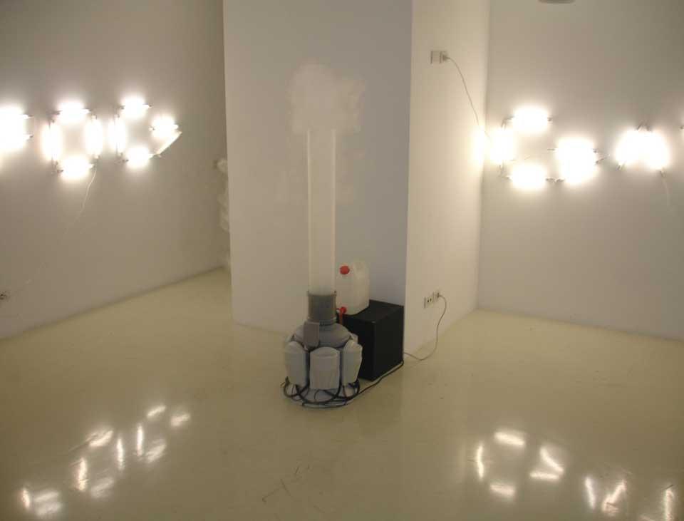 Bless/Guixé at Lima, doppia installazione dell'ex-designer Martí Guixé e delle fashion designer tedesche Bless (Desiree Heiss e Ines Kaag), allo Spazio Lima di Milano, 2006