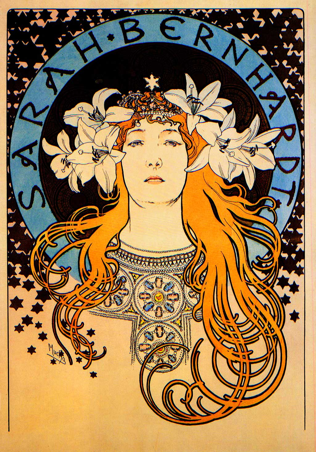 Alphonse Mucha - Sarah Bernhardt_