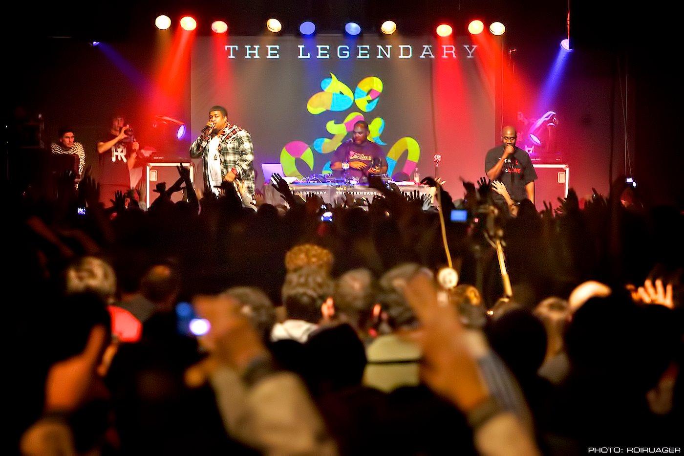 Il concerto dei De La Soul nel 2011