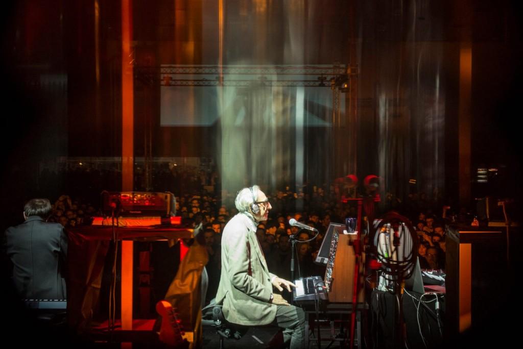 Franco Battiato in concerto al festival Club To Club di Torino