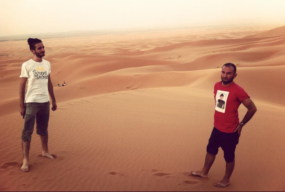 Denis e Passenger dispersi nel deserto