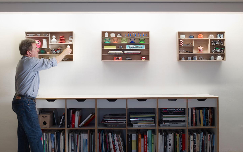 James Irvine (Londra, 1958 – Milano, 2013) al lavoro - http://www.studio-irvine.com/