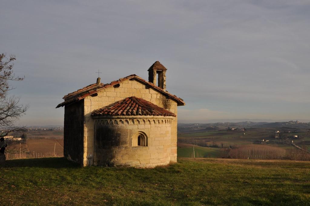 La seconda casa di Denis a Moleto in provincia di Alessandria, la prima è in ristrutturazione