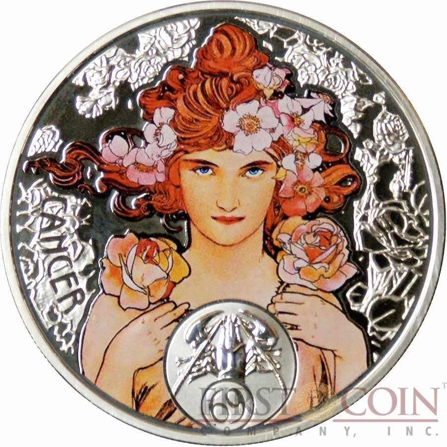 niue-island-CANCER-1-mucha-zodiac-series-colored-silver-coin-2010-proof-first-coin-company-reverse1-900x900