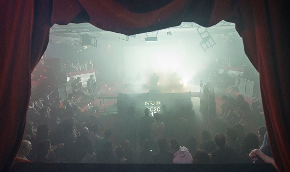 O One Circle alla preview di Club to Clube 2013 nella Buka c/o ex casa discografica CGD