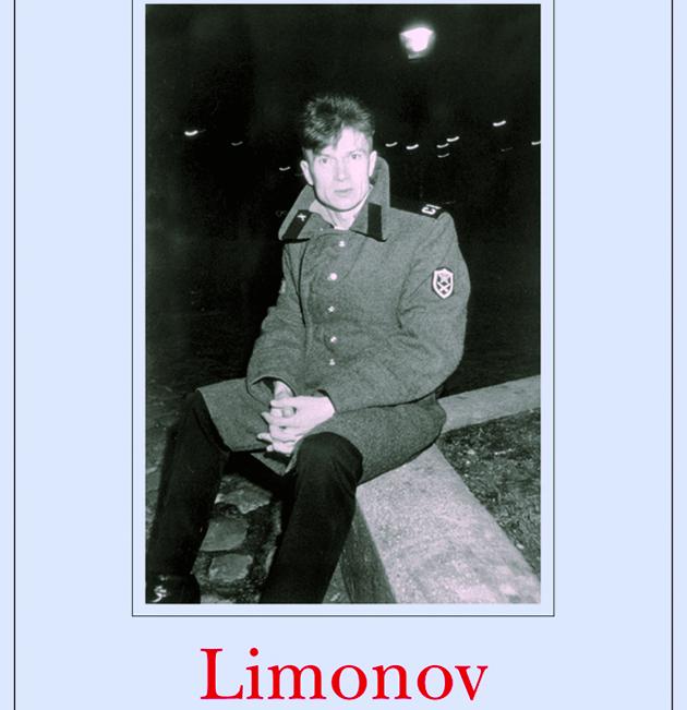 Limonov nella compertina della bellissima biografia romanzata scritta da Emmanuel Carrère