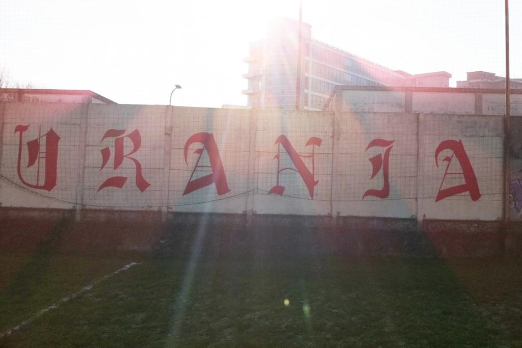 Il campo dell'Urania, la squadra di calcio di Cremona in cui giocava Tyler. Ha dato il nome ad uno dei suoi party più belli