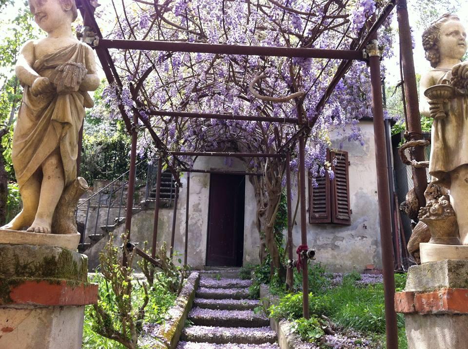 La casa/studio/atelier di Tyler a Firenze