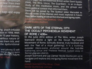 Roma (est) caput mundi: anche al Liverpool International Festival of Psychedelia si parla di DalVerme e Thalassa
