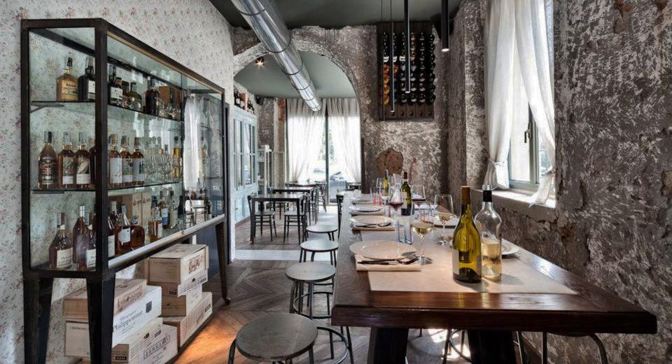La bottega del vino milano zero for Architettura e design milano