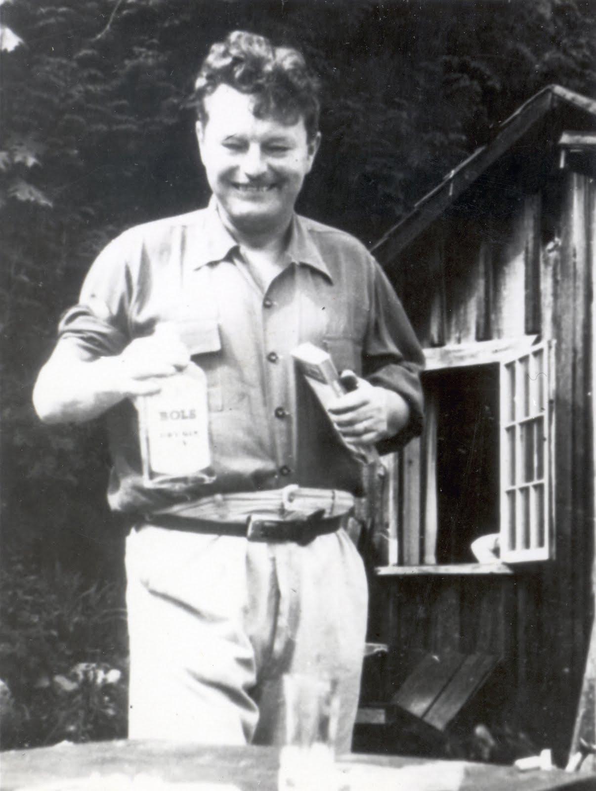 Malcolm Lowry (Birkenhead, 1909 – Ripe, 27 giugno 1957) - © https://www.reddit.com
