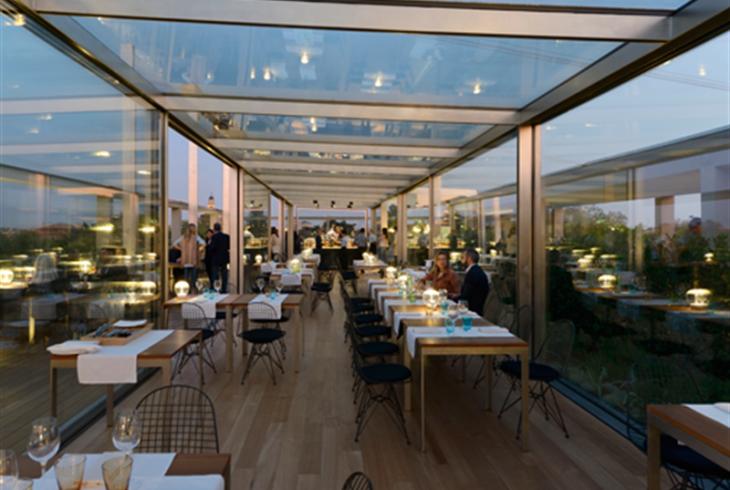 Miracolo in terrazza terrazza triennale osteria con - Trattoria con giardino milano ...