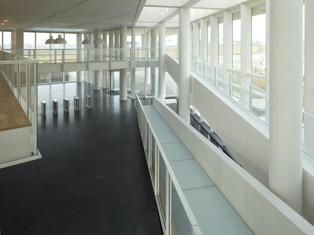 Richard Meier, i.lab, Bergamo, interno