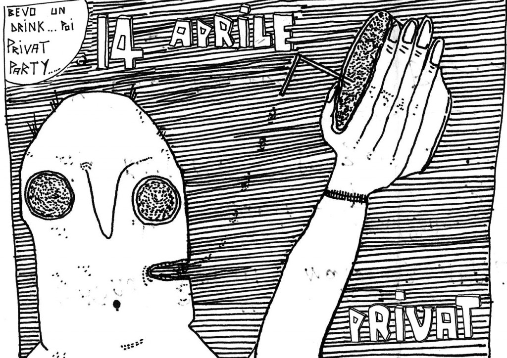 Flyer Privat Party 2007