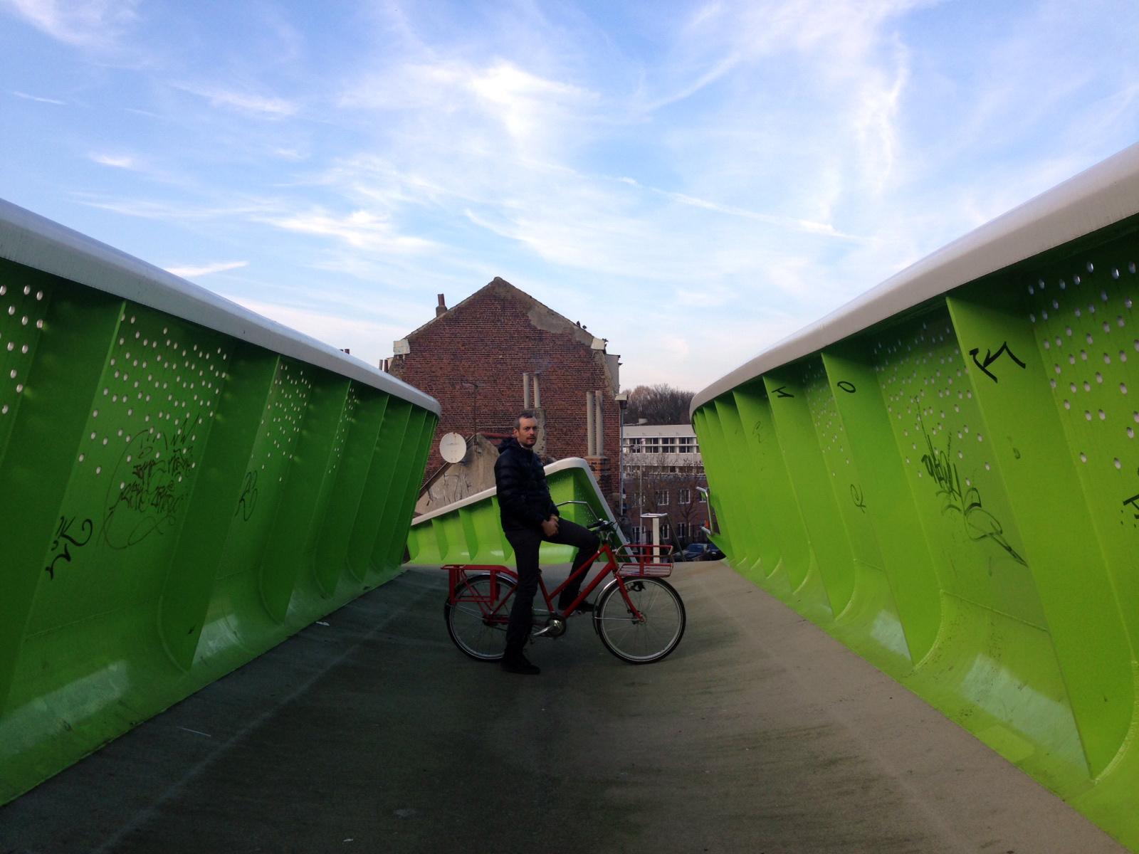 Michel Aquila in un'esplorazione urbana