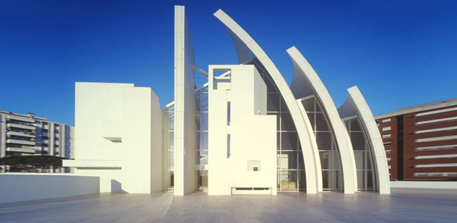 Richard Meier, Jubilee Church, chiesa Dives in Misericordia, Roma