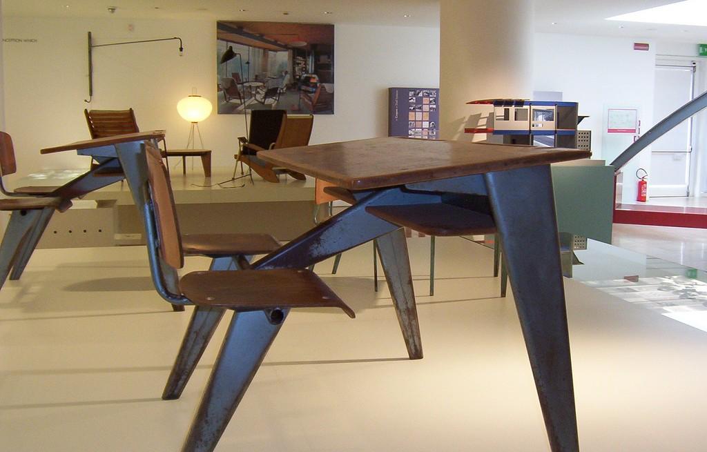 Jean Prouvé e la poetica dell'oggetto tecnico al Museo dell'Ara Pacis.