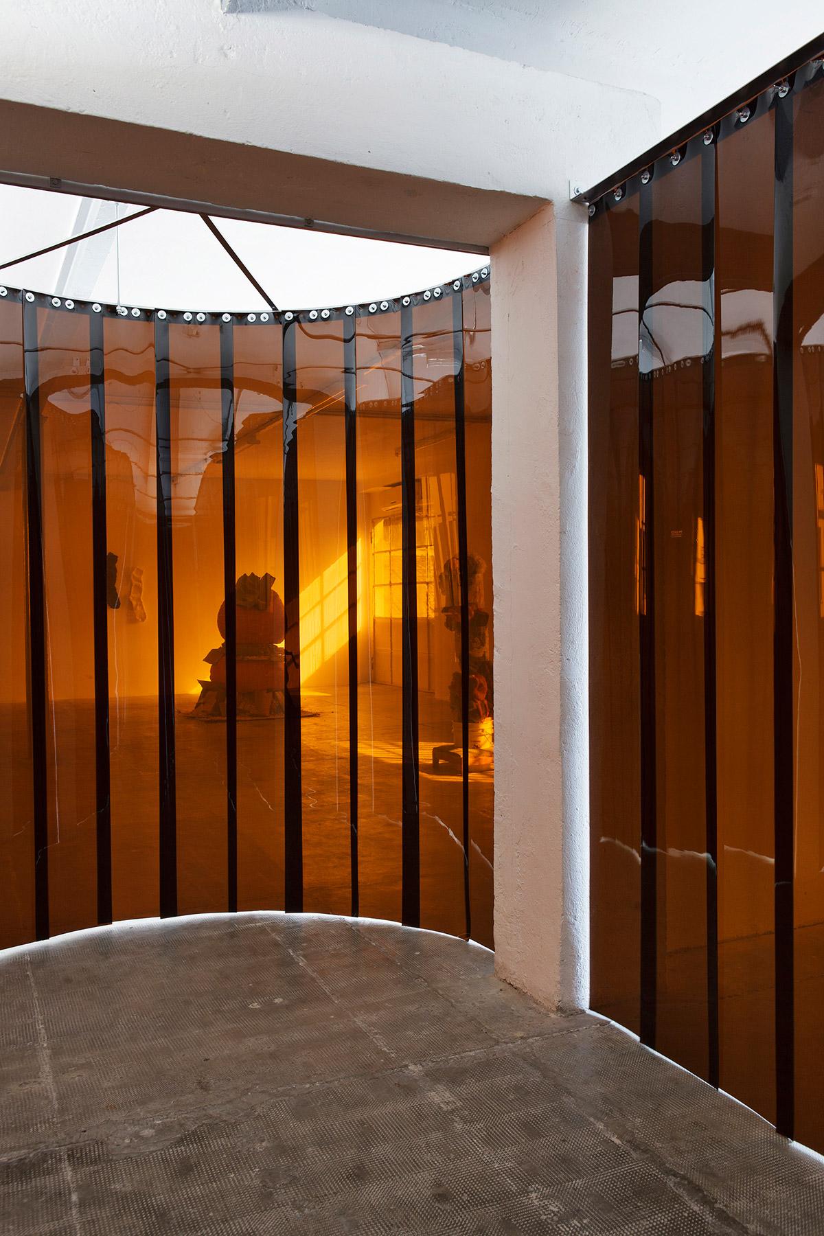 Catharine Ahearn, installation view at Peep-Hole 2015 Ph Laura Fantacuzzi