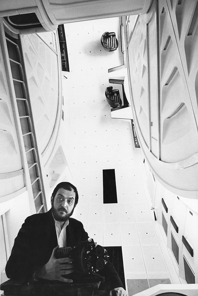 Kubrick with camera in big wheel lr 1000px