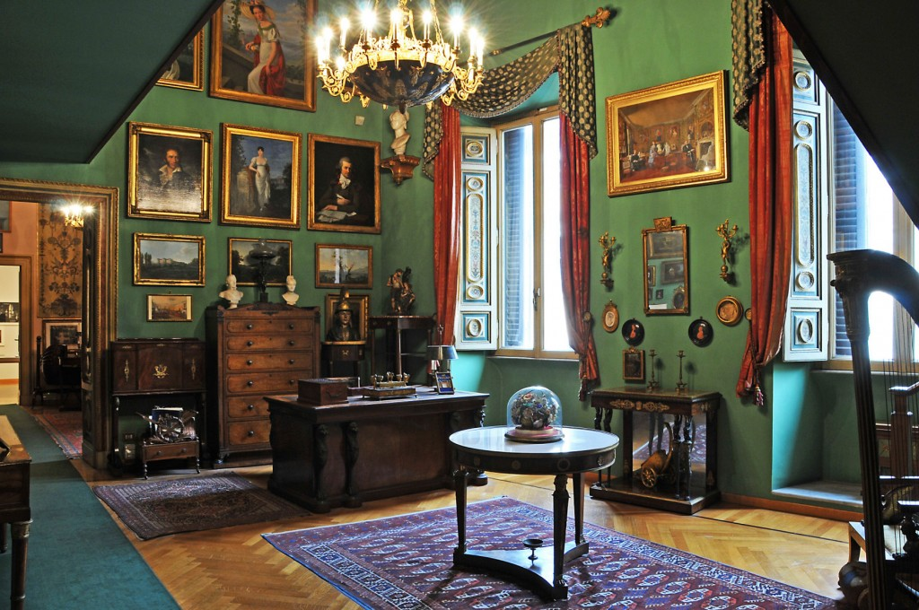 La casa museo di Mario Praz a Roma.