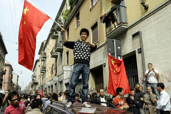 Chinatown in rivolta