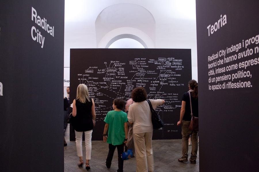 Inaugurazione della mostra Radical City a Torino © Jana Sebastova