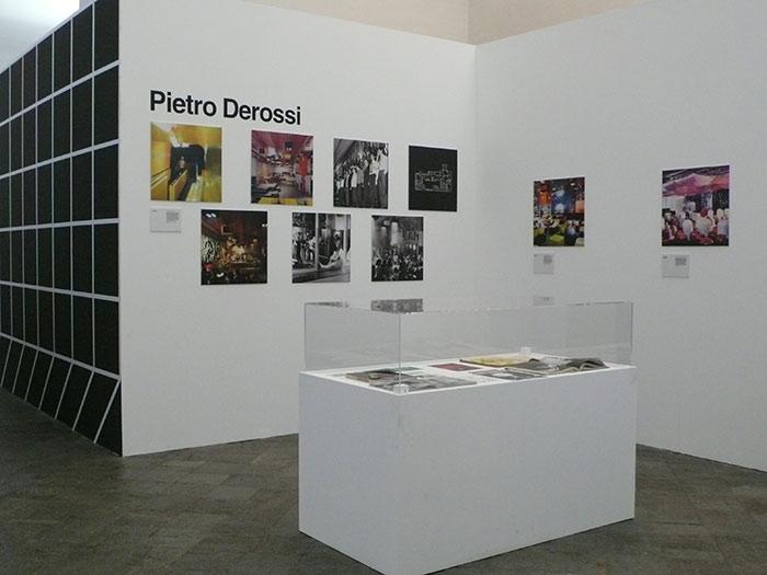 La sezione della mostra Radical City dedicata alle discoteche radicali
