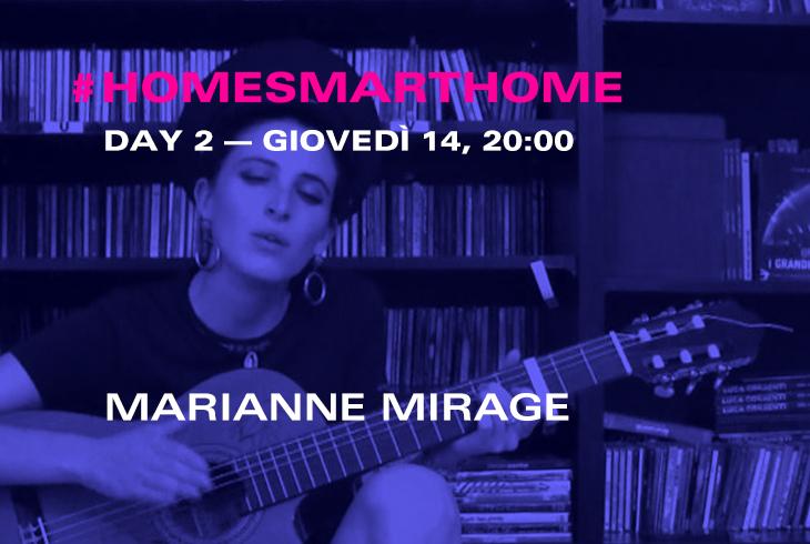 Marianne MIrage in concerto a Samsung Home Smart Home per il Fuorisalone 2016