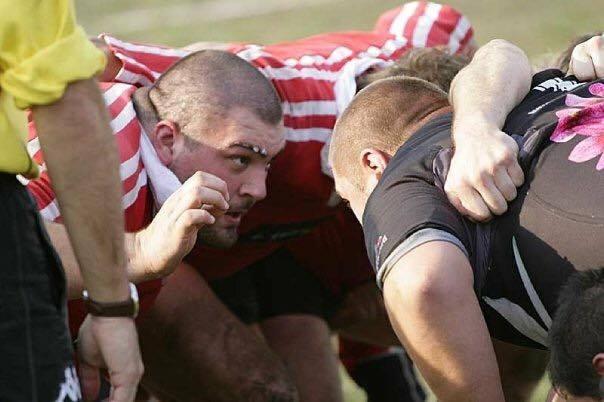 Yuri Gelmini ai tempi del rugby