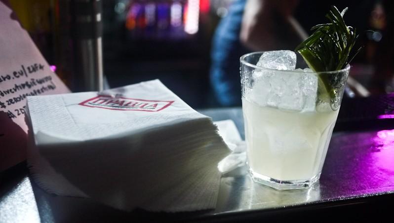 L'Agreste, un drink a base di grappa