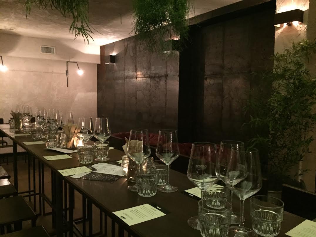 La sala principale dove abbiamo cenato