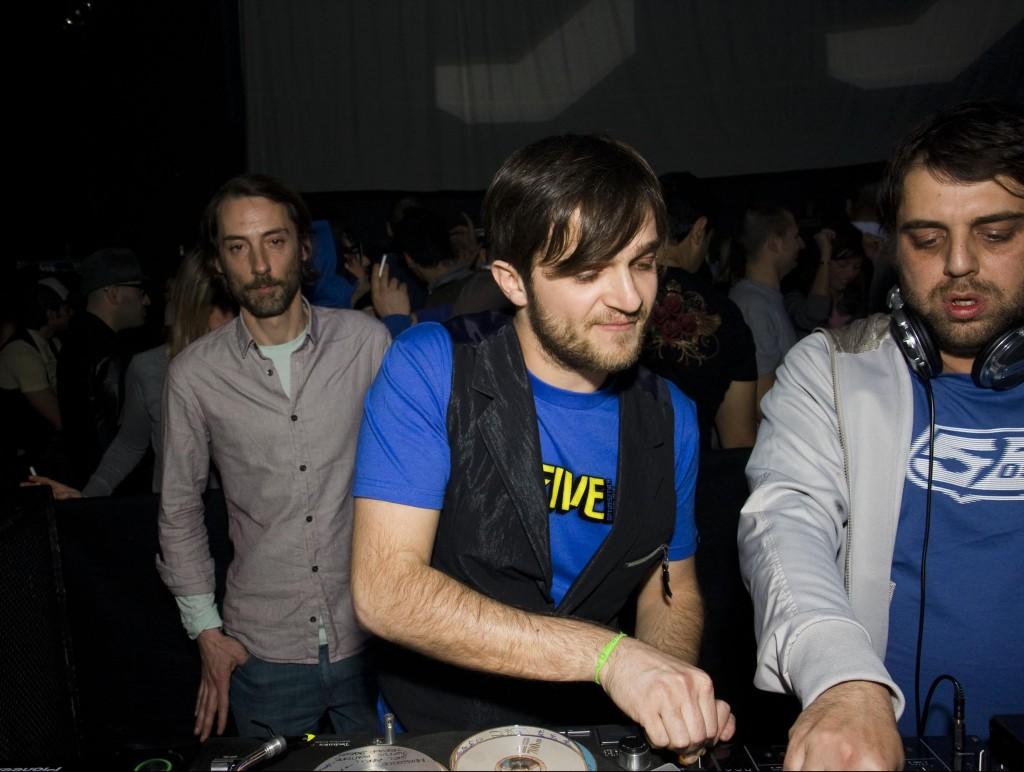 Gommage Dj Team formazione originale Luc Ramon, Claudio Fagnani e Manfredi Romano @ Magazzini Generali 2007/2008
